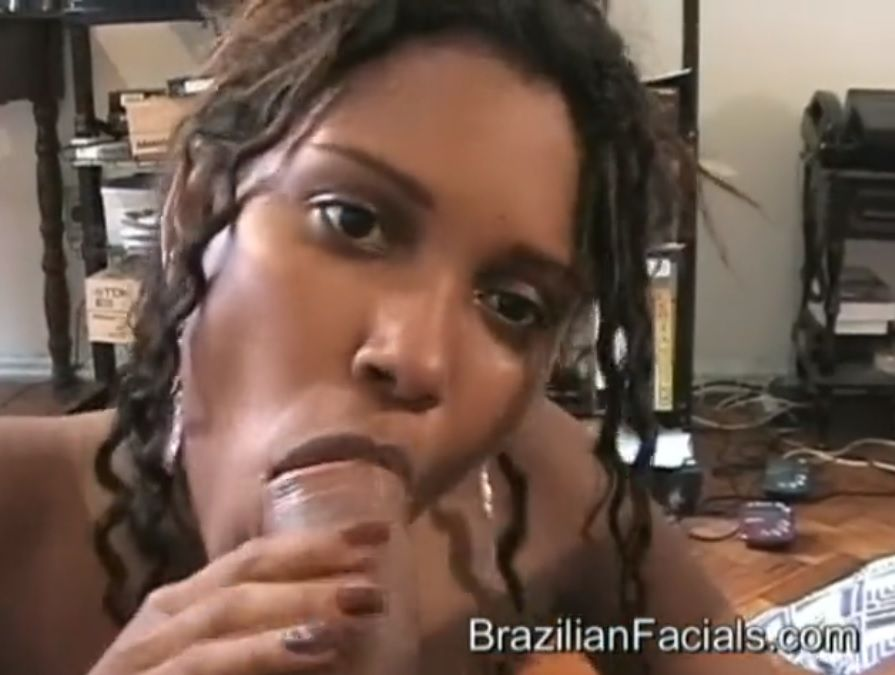 Brazilian Facials morena gravida safada